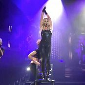 Britney Spears Sparkling Black Spandex Catsuit Live Las Vegas HD Video