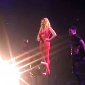 Britney Spears Do Somethin Live Las Vegas Sexy Red Outfit HD Video