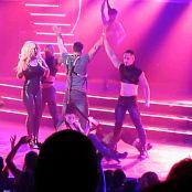 Britney Spears Freakshow Black Latex Catsuit Teasing HD Video