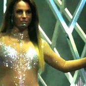 Britney Spears Work Bitch Sexy Sparkling Catsuit HD Video