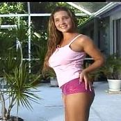 Christina Model Super Sexy Shoot By The Pool Video