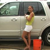 Christina Model Carwash Video