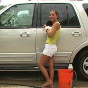 Christina Model Carwash Video