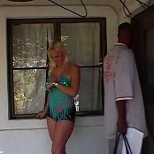 Nicki Hunter Sexy On Porch BTS Video