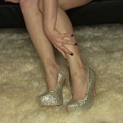 Sherri Chanel Sparkle Heels HD Video