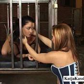 Sophia & Katja Kassin Caged Lesbians Video