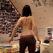 Hot Young Girl Nude Dance In Her Bedroom Video