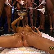 Crazy German Bitch Piss Gangbang Video