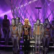 Britney Spears Work Bitch Black Shiny Dominatrix Outfit HD Video