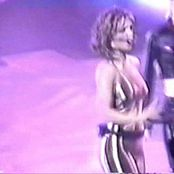 Britney Spears Shiny Golden Catsuit Oops Live 2000 Video