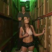 Melissa Lauren Rough Anal In Warehouse Video