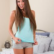 Brittany Marie Blue In Bed Picture Set
