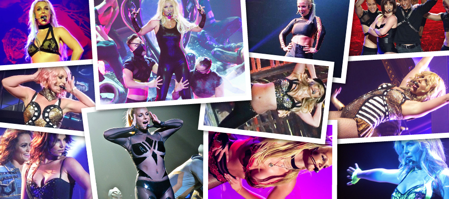 Britney Spears Piece Of Me Live Pictures & GIF Animations Megapack