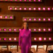 Britney Spears Pink Latex Catsuit Flash HD Video
