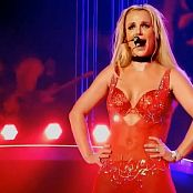 Britney Spears Freakshow Sexy Red Lingerie HD Video