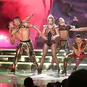 Britney Spears Toxic POM Sexy Blonde Ponytail 2015 HD Video