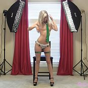 Cali Skye Saint Patty's Day Photoshoot HD Video