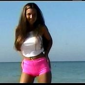 Christina Lucci Early Days Shoot At The Beach Video