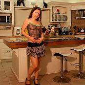 Emily Sexy Kitchen Striptease HD Video