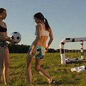 Fame Girls Audrey & Isabella Football Girls HD Video