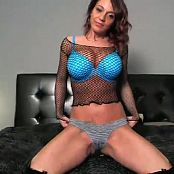 Nikki Sims Sexy Black Boots & Fishnets 07032016 Camshow Video
