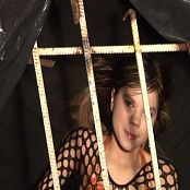 Young Gusel Caged Fishnet & Gold Bikini Video