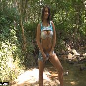 Bailey Knox Stripping By The Creek HD Video