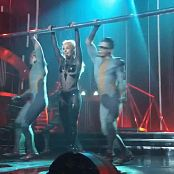 Britney Spears Dancing Sexy In Black Shiny Catsuit HD Video