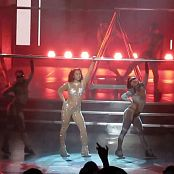 Britney Spears 3 Glitter Catsuit Outfit HD Video