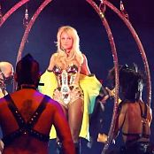 Britney Spears Super Sexy Shiny Golden Armor Outfit HD Video