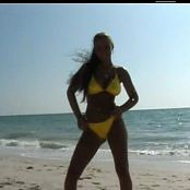 Christina Lucci Bikini Special On Miami Beach Video