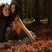 Fame Girls Audrey & Isabella Naked Forrest Rub HD Video