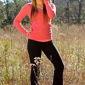 Sherri Chanel Pink N Yoga Pants Picture Set & HD Video