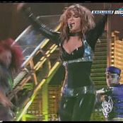 Britney Spears Black Latex Catsuit Shaking Her Body Cut Video