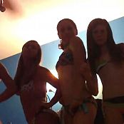 Amateur Bikini Cuties Dancing In Bedroom Video