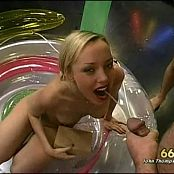 Kinky Annette Schwarz Piss Drinking In Kiddy Pool Video
