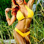 Bianca Beauchamp Desire Yellow Bikini Picture Set