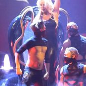 Britney Spears Freakshow Hot Blonde & Latex Catsuit HD Video