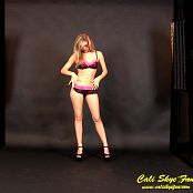 Cali Skye Black & Pink Lingerie HD Video