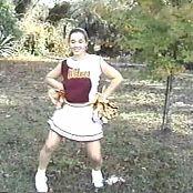 Christina Model Sexy Cheerleader Dancing Video