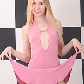 Mila Model Pink Dress Picture Set