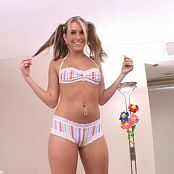 Courtney Cummz Pigtails & Round Asses Video