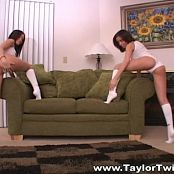 Taylor Twins White Socks Video