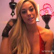 Gisele Love 20140213 Red Lingerie Camshow Video