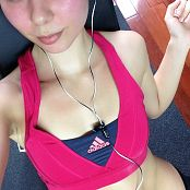 Ariel Rebel Sweaty Selfies Picture Set