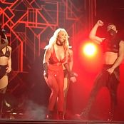 Britney Spears Freakshow Red Lingerie Outfit HD Video