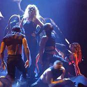 Britney Spears Slave 4 U Live Shiny Black Latex Dominatrix HD Video