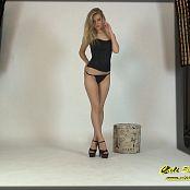 Cali Skye Black Dress Striptease HD Video