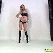 Cali Skye Black Pleather HD Video