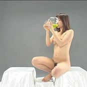 Cute Japanese Teen Drinks Her Own Piss Video
